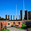 War and conflict memorials in Marine Gardens, Carrickfergus, County Antrim