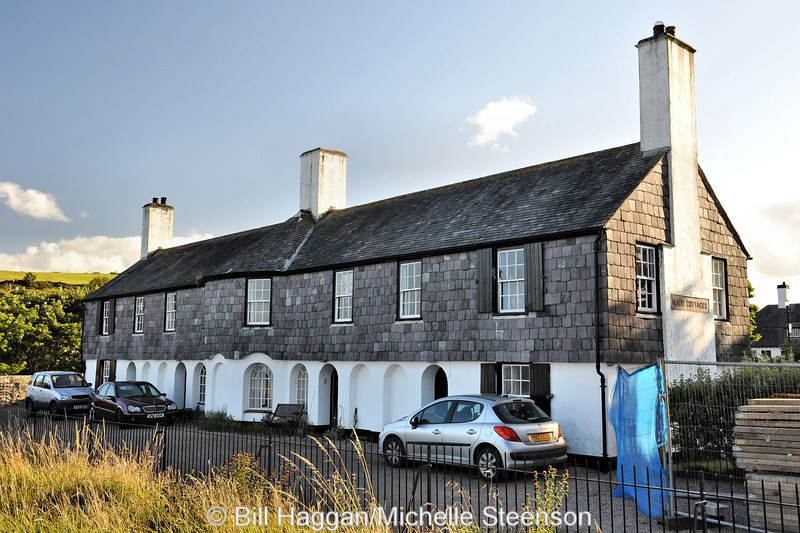 Maud Cottages, Cushendun, County Antrim