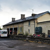 Former Railway Station (rear elevation)<br /> Randalstown<br /> County Antrim<br /> 26th May 2014