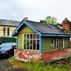 Former Railway Station and Signal Cabin<br /> Randalstown<br /> County Antrim<br /> 26th May 2014