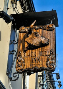 The Black Bull Inn, Randalstown, County Antrim. Friday, 24th March 2017.