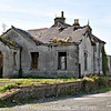 The former Belfast & County Down Railway Station in Ardglass, County Down. The line closed in 1950.