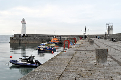 Donaghadee harbour. Friday, 28th May 2021.