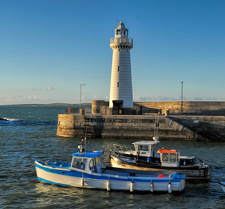 The Harbour, Donaghadee, County Down. Friday, 29th April 2016.