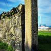 Old Railway gatepost<br /> Donaghadee<br /> County Down<br /> 16th May 2014