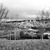 The Ulster Hospital, as seen from Moat Park, Dundonald, County Down.