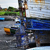 Boats<br /> Groomsport harbour<br /> County Down<br /> 6th June 2014