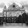 The gates to Government House, Hillsborough, County Down