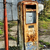 Old fuel pump. Hilltown, County Down
