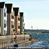 Apartments have been built on the old town pier. Killyleagh, County Down.