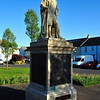 Statue of Sir Hans Sloane in Killyleagh, County Down.
