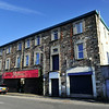 The former brewery as seen from West Street<br /> Newtownards<br /> 27th June 2014