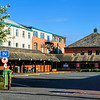 The bus station as seen from West Street on Friday, 27th June 2014.<br /> Newtownards