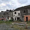 To the rear of the derelict houses in Court Street, Newtownards.  Friday, 16th April 2021.