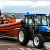 The Portaferry lifeboat prepares to launch for a display during Gala Week 2009