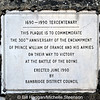 1690 - 1990 Tercentenary Plaque, Scarva, County Down