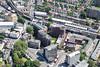 Aerial photo of Putney Bridge.