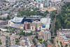 Aerial photo of Stamford Bridge