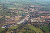 Aerial photo of Ashbourne.