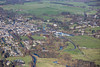 Bakewell from the air.