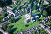 Aerial photo of Bakewell Church.
