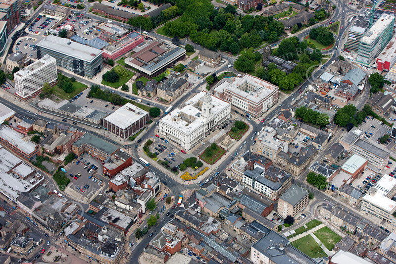 Barnsley from the air.