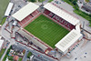 Aerial photo of Barnsley Football Club.