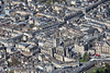 Bath Abbey from the air.