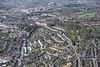 Aerial photo of Bath.