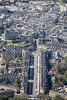 Great Pulteney Street in Bath from the air.