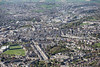 An aerial view of Bath.