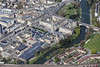 An aerial photo of Bath.