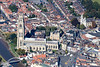 Aerial photo of  St Botolph's Church.
