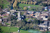 Aerial photo of Bourne.