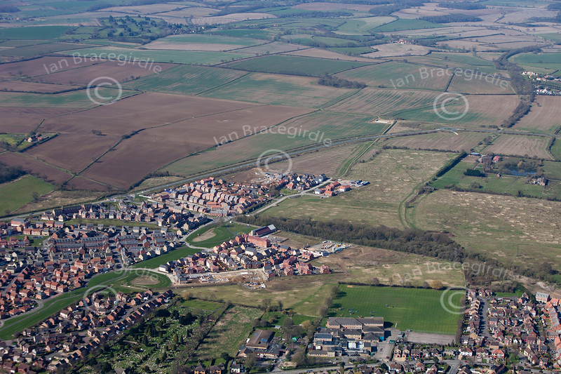 Bourne from the air.