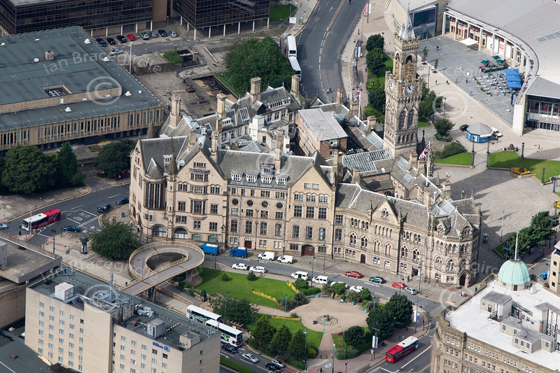 Bradford from the air.