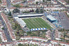 Aerial photo of Bristol Rovers Football Club.