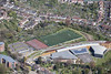 Redland Green School from the air.