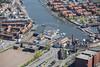 Aerial photo of Bristol.