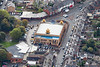 Aerial photo of the Guru Arjan Dev Gurdwara.