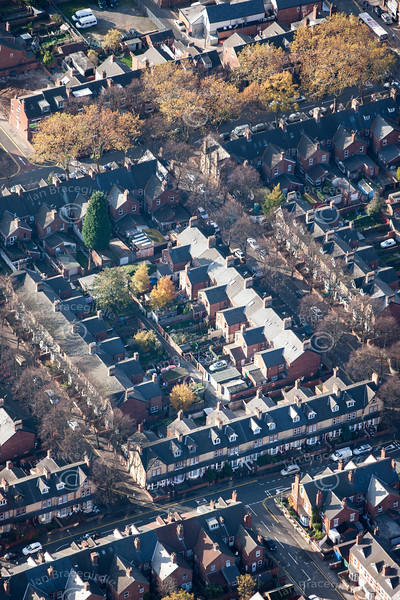 Aerial photo of Doncaster.