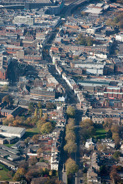 Doncaster from the air.