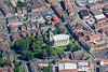 Gainsborough from the air.