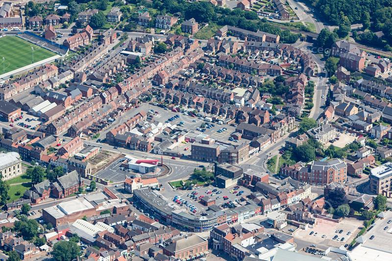 Gainsborough from the air.
