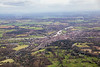 Aerial photo of Henley on Thames.