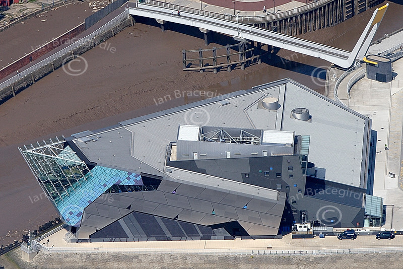 Hull from the air.