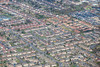 Kirkby in Ashfield from the air.