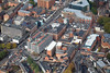 Aerial photo of Leicester.