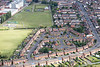 Aerial photo of South Wigston in Leicestershire.