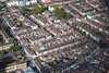 Aerial photo of Wilson Street in Leicester.